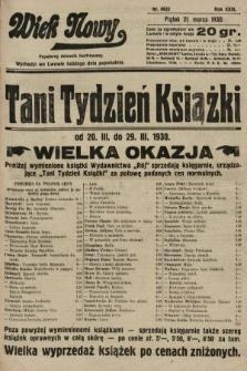 Wiek Nowy : popularny dziennik ilustrowany. 1930, nr8625
