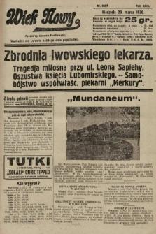 Wiek Nowy : popularny dziennik ilustrowany. 1930, nr8627