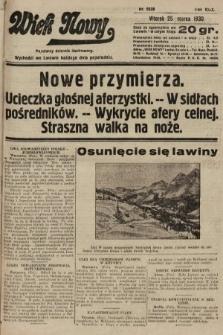 Wiek Nowy : popularny dziennik ilustrowany. 1930, nr8628