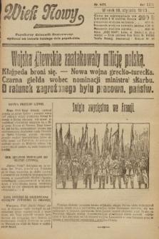Wiek Nowy : popularny dziennik ilustrowany. 1923, nr6471