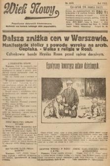 Wiek Nowy : popularny dziennik ilustrowany. 1923, nr6532