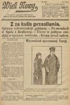 Wiek Nowy : popularny dziennik ilustrowany. 1923, nr6539