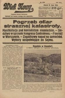 Wiek Nowy : popularny dziennik ilustrowany. 1930, nr8719