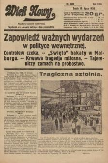 Wiek Nowy : popularny dziennik ilustrowany. 1930, nr8720