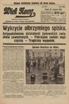 Wiek Nowy : popularny dziennik ilustrowany. 1930, nr8751