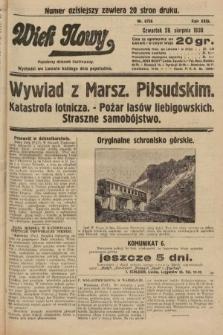 Wiek Nowy : popularny dziennik ilustrowany. 1930, nr8756