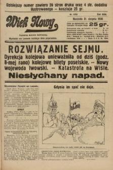 Wiek Nowy : popularny dziennik ilustrowany. 1930, nr8759