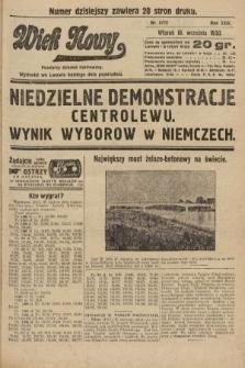 Wiek Nowy : popularny dziennik ilustrowany. 1930, nr8772
