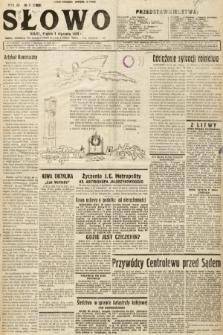 Słowo. 1932, nr1