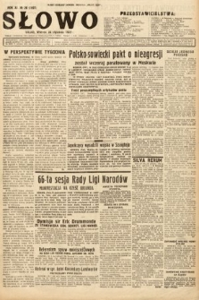 Słowo. 1932, nr20