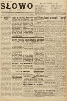 Słowo. 1932, nr43