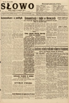 Słowo. 1932, nr87