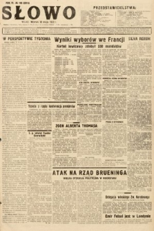 Słowo. 1932, nr105