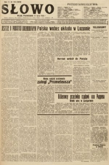 Słowo. 1932, nr163