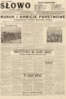 Słowo. 1932, nr199