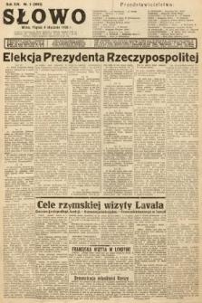 Słowo. 1935, nr3