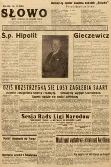 Słowo. 1935, nr12