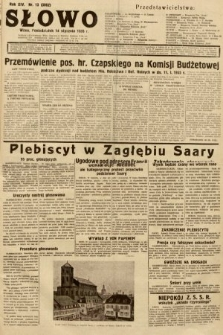 Słowo. 1935, nr13