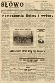 Słowo. 1935, nr21