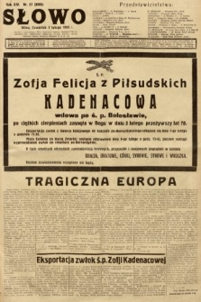 Słowo. 1935, nr37