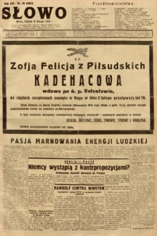 Słowo. 1935, nr38