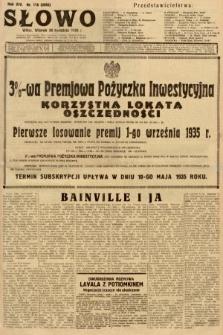 Słowo. 1935, nr116