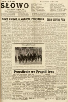 Słowo. 1935, nr153