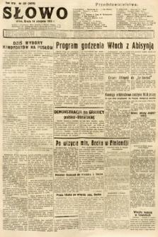 Słowo. 1935, nr221