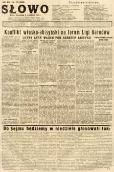 Słowo. 1935, nr243