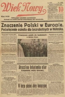 Wiek Nowy : popularny dziennik ilustrowany (wydanie popołudniowe). 1936, nr10637