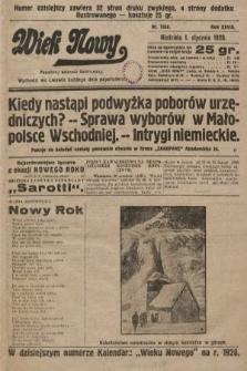 Wiek Nowy : popularny dziennik ilustrowany. 1928, nr7958