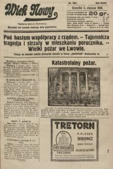 Wiek Nowy : popularny dziennik ilustrowany. 1928, nr7961