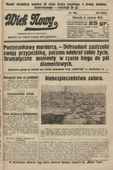 Wiek Nowy : popularny dziennik ilustrowany. 1928, nr7963