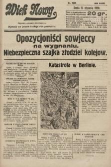 Wiek Nowy : popularny dziennik ilustrowany. 1928, nr7965