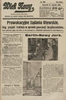 Wiek Nowy : popularny dziennik ilustrowany. 1928, nr7966