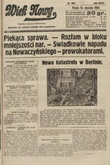 Wiek Nowy : popularny dziennik ilustrowany. 1928, nr7967