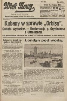 Wiek Nowy : popularny dziennik ilustrowany. 1928, nr7968