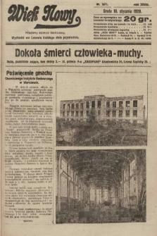 Wiek Nowy : popularny dziennik ilustrowany. 1928, nr7971