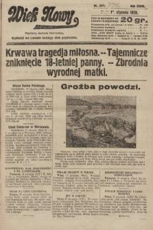 Wiek Nowy : popularny dziennik ilustrowany. 1928, nr7972
