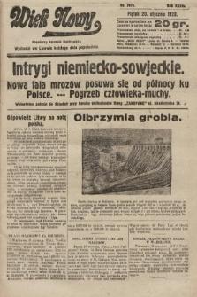 Wiek Nowy : popularny dziennik ilustrowany. 1928, nr7973