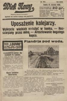 Wiek Nowy : popularny dziennik ilustrowany. 1928, nr7974