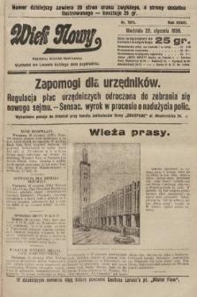 Wiek Nowy : popularny dziennik ilustrowany. 1928, nr7975