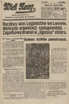 Wiek Nowy : popularny dziennik ilustrowany. 1928, nr7976