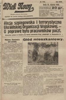 Wiek Nowy : popularny dziennik ilustrowany. 1928, nr7977