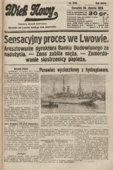 Wiek Nowy : popularny dziennik ilustrowany. 1928, nr7978