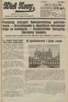 Wiek Nowy : popularny dziennik ilustrowany. 1928, nr7979