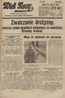 Wiek Nowy : popularny dziennik ilustrowany. 1928, nr7980