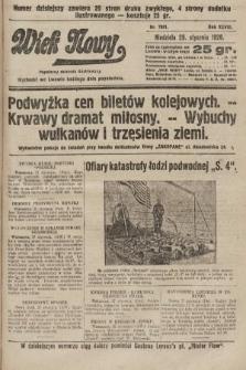 Wiek Nowy : popularny dziennik ilustrowany. 1928, nr7981