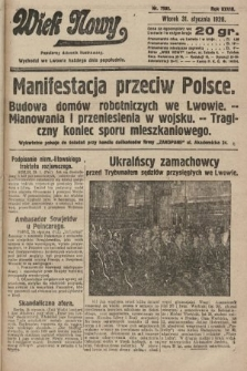 Wiek Nowy : popularny dziennik ilustrowany. 1928, nr7982