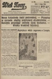 Wiek Nowy : popularny dziennik ilustrowany. 1928, nr7983